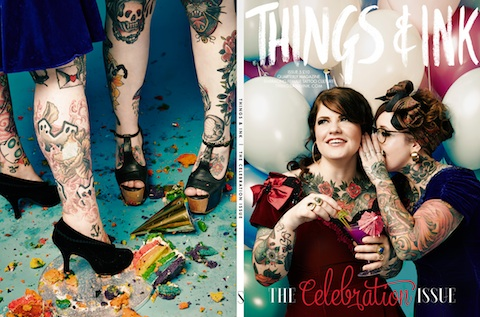 Things and ink celebration issue