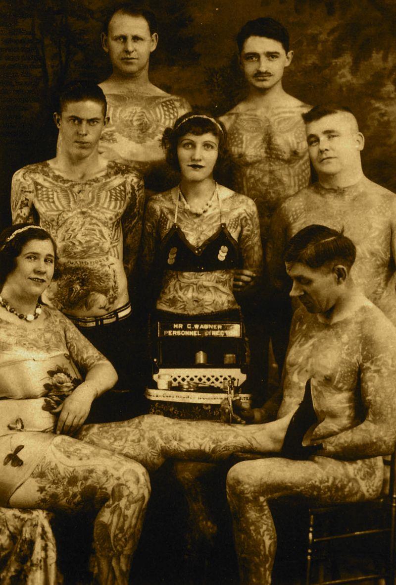 1930s. Jean Carroll-Furella & others